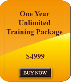 One Year Unlimited Training Package
